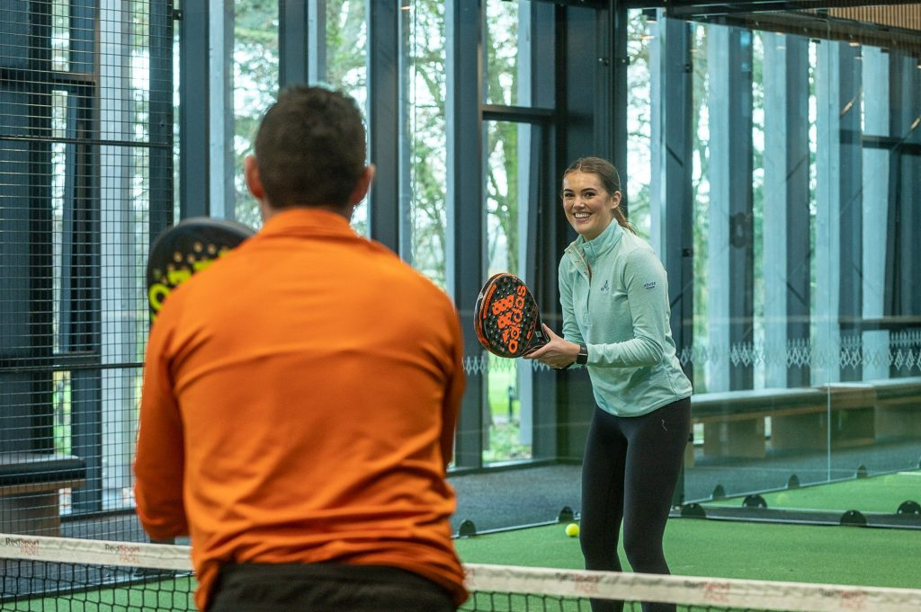 padel dames messieurs mixtes hotel luxe