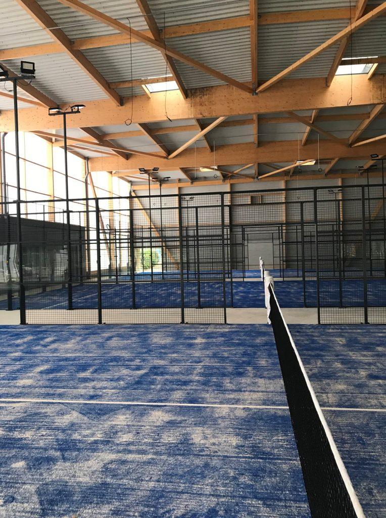 padel indoor FFT Loire Vallée Padel
