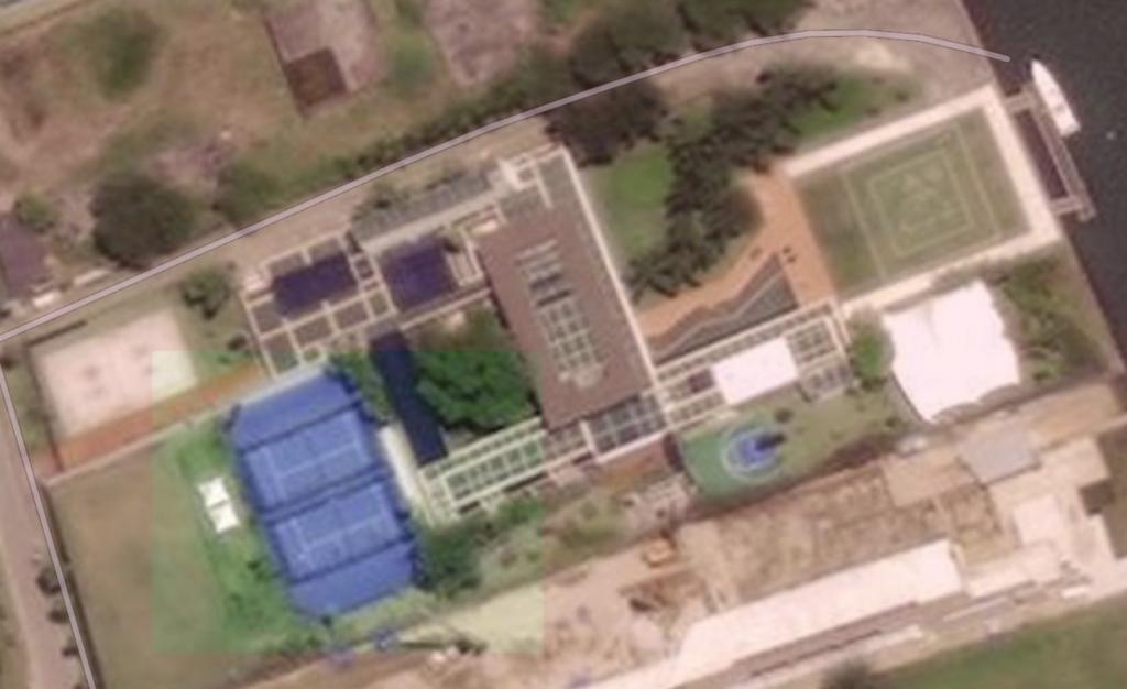 pistes padel neymar villa brasil