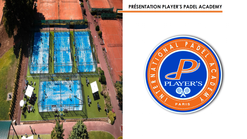 player's academy padel logo