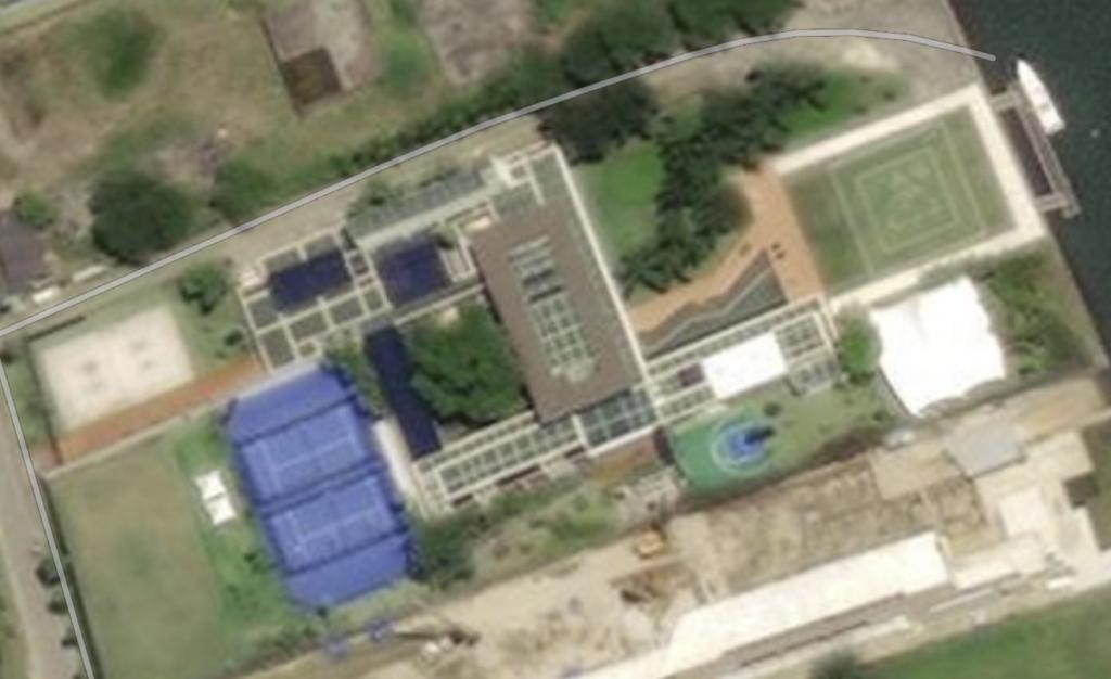 Neymar installerer 2 pladser på padel i sin villa i Brasilien