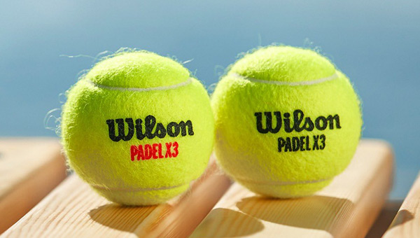 Wilson throws two new balls of padel