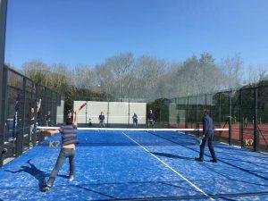 terrain padel bleu bretagne tennis et padel concarneau