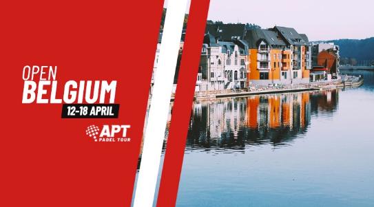 APT Padel Tour Belgium Open : le tableau est sorti !