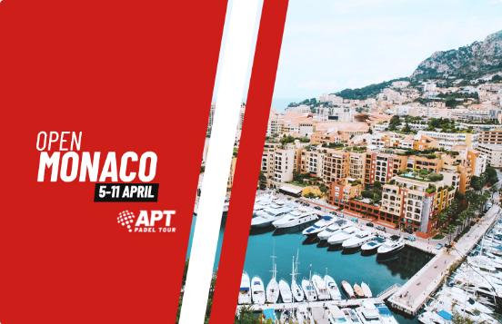 APT Padel Tour : prochaine étape Monaco