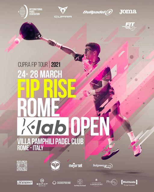 Affiche Cupra FIP Rise Rome 2021