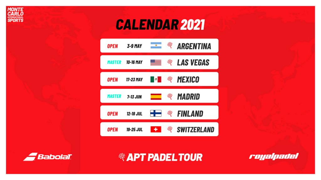 APT Padel 阿根廷公开赛:复杂的组织...