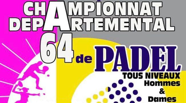 Championnat départemental pyrenees atlantiques 2021 padel