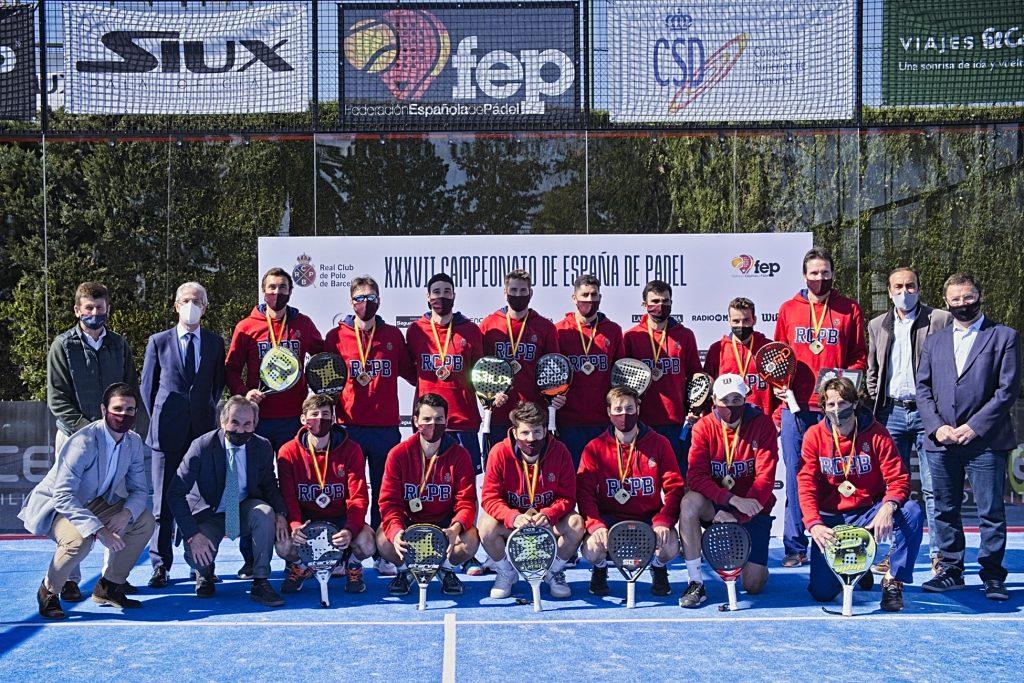 Champions RC Polo Barcelone 2021 espagne par équipes catégorie 1