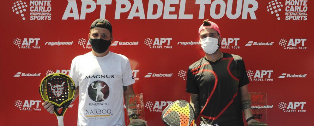 Chiostri Alfonso vainqueurs APT Paraguay Master
