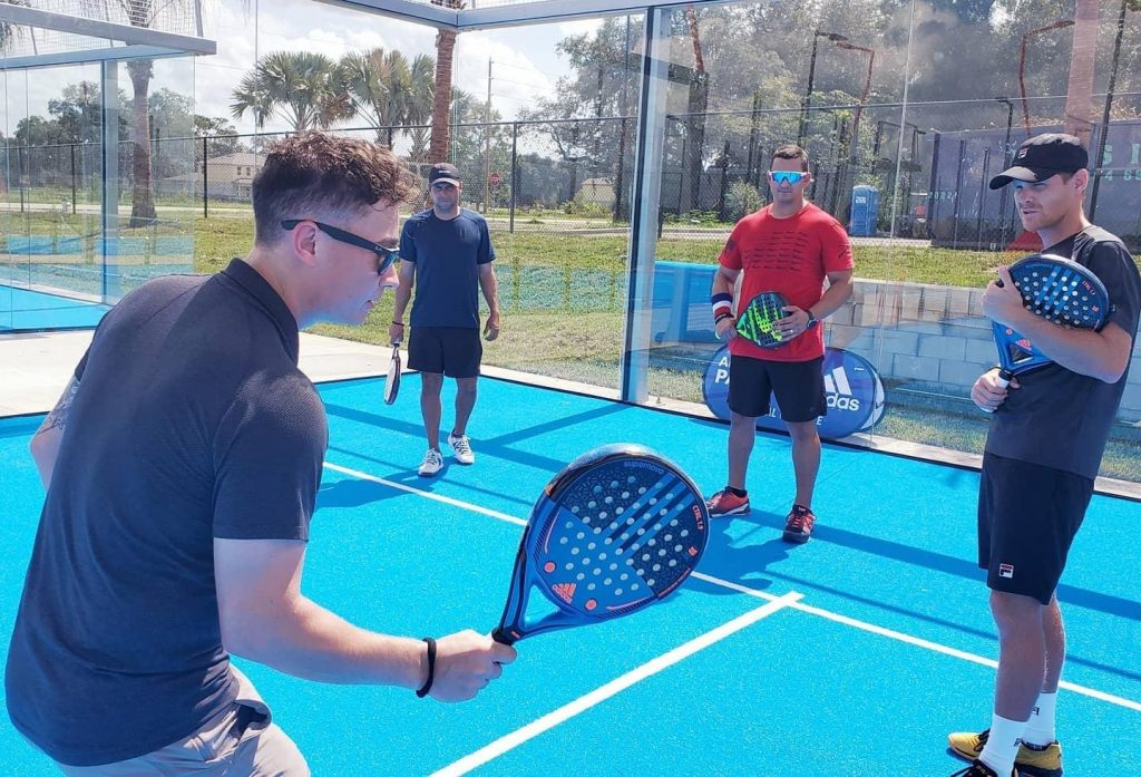 Entrenament SVB Padel USA