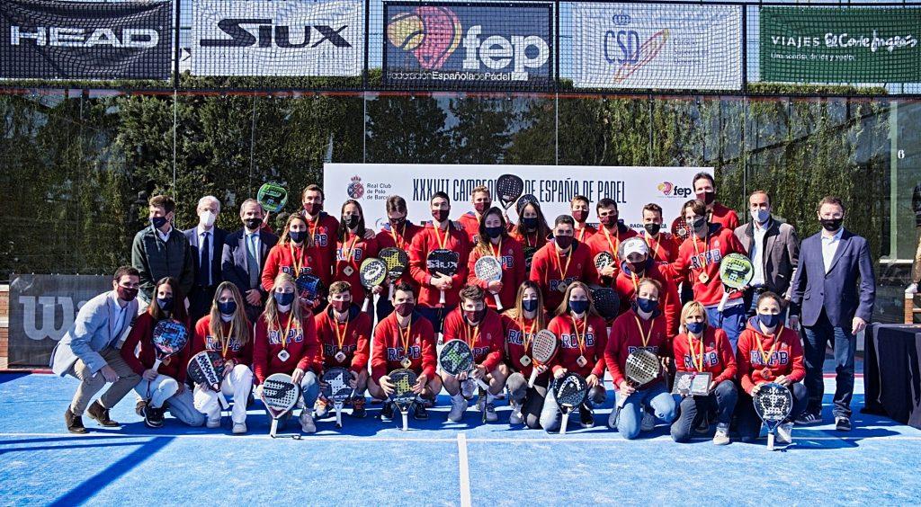 Le doublé pour le RC Polo au Championnat d'Espagne par équipes