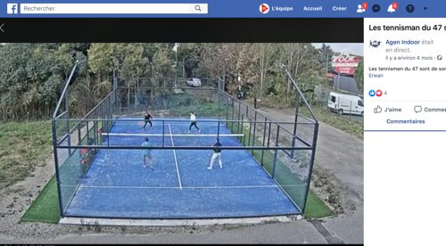Facebook sportn'play streaming