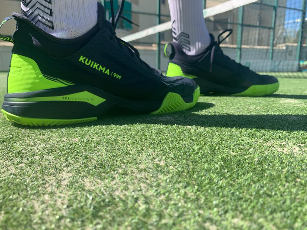 Kuikma 990 Dynamic chaussures test padel mag