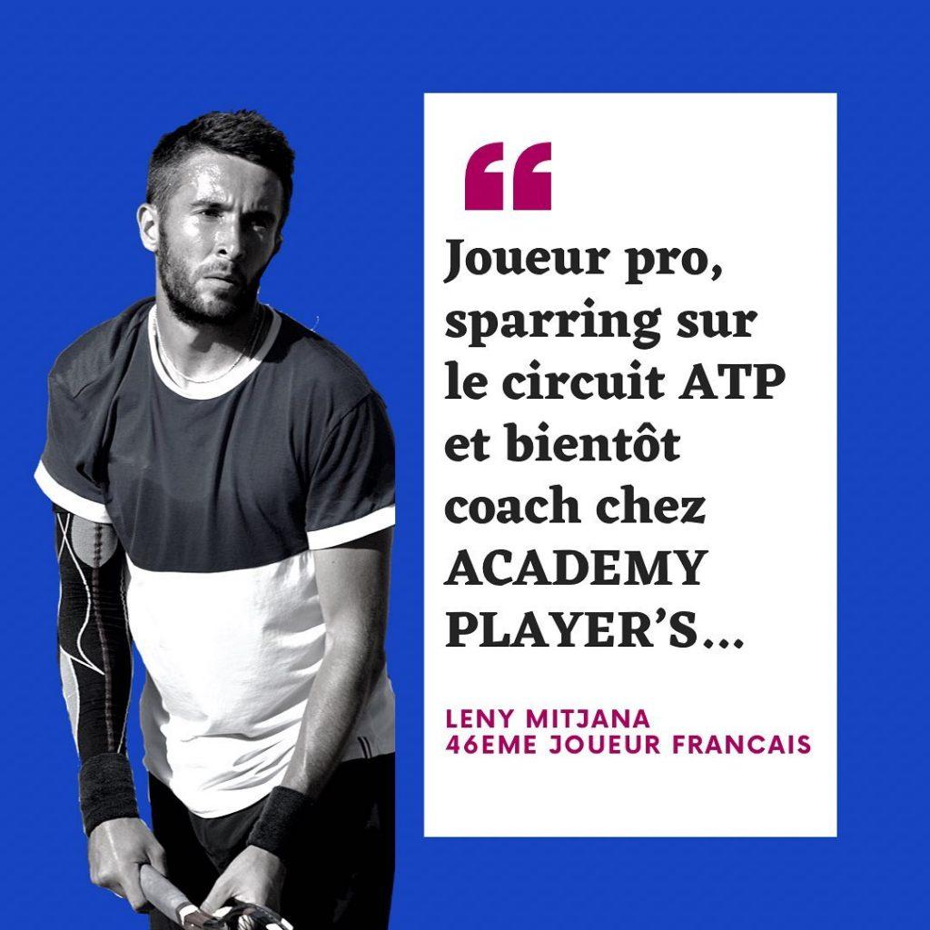 Leny MITJANA player's academy