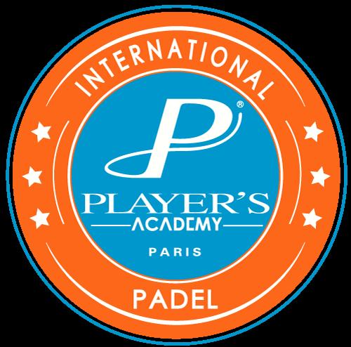 Logo tenisowe gracza padel