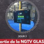 Software NGTV GLASS PADEL mensaje