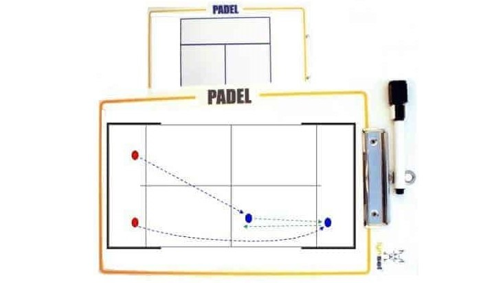Padel Tactische tablet