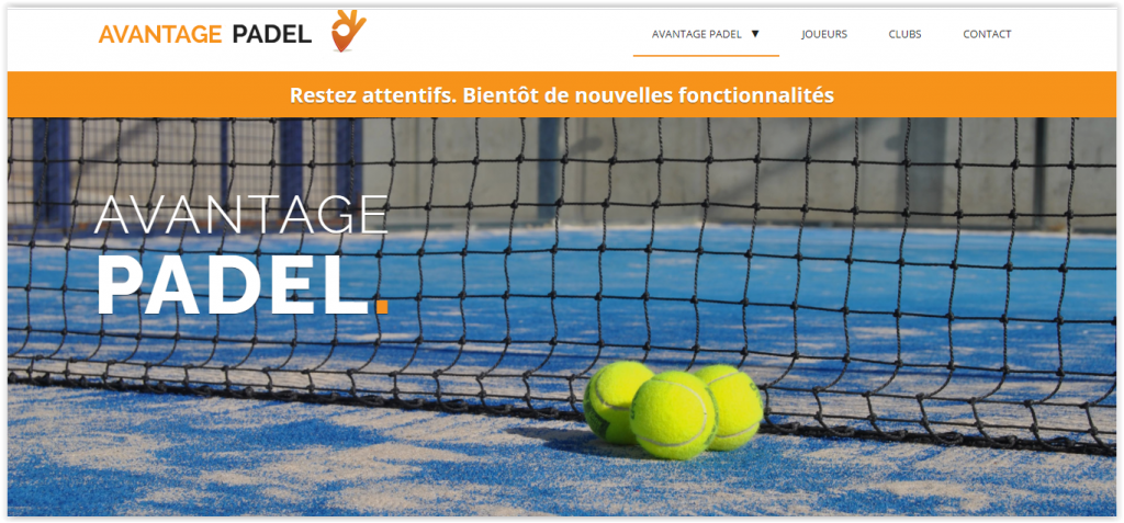 Avantage padel : plus rapide, plus simple