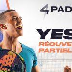 Réouverture Partielle 4Padel Marville
