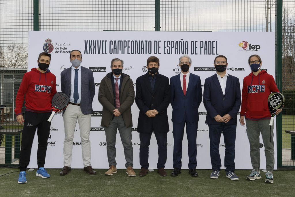 Heavy at the 37th Spanish Championship of padel by teams!