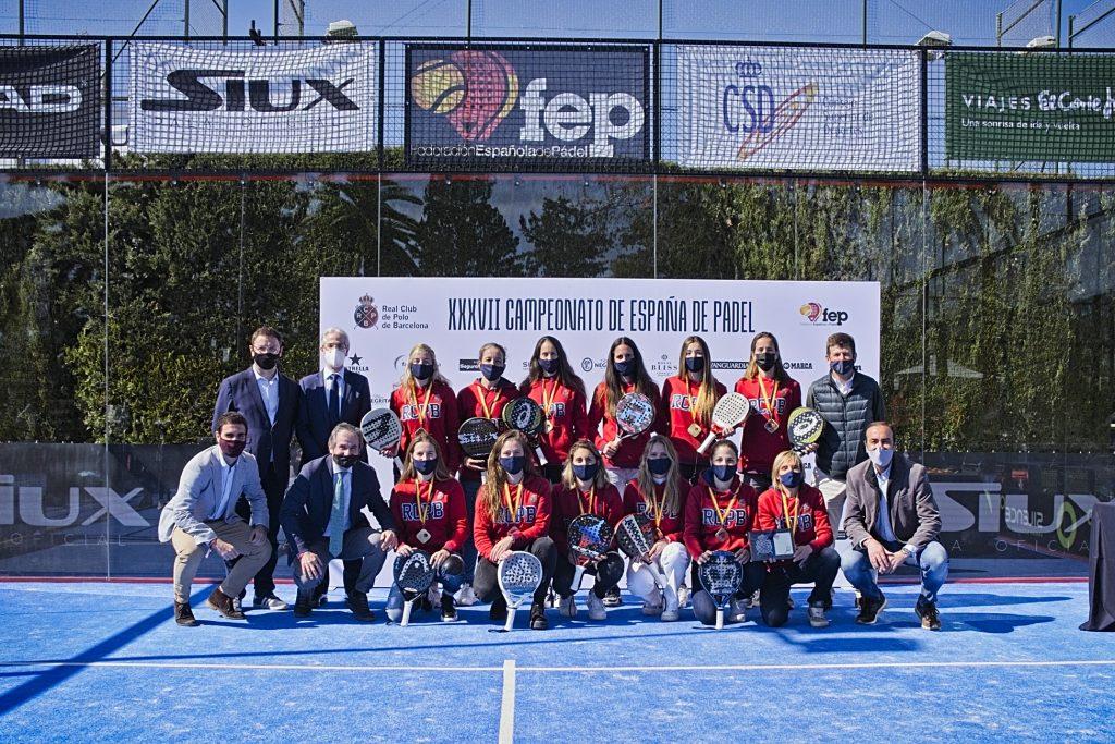 RC Polo championnes 2021 espagne par équipes catégorie 1