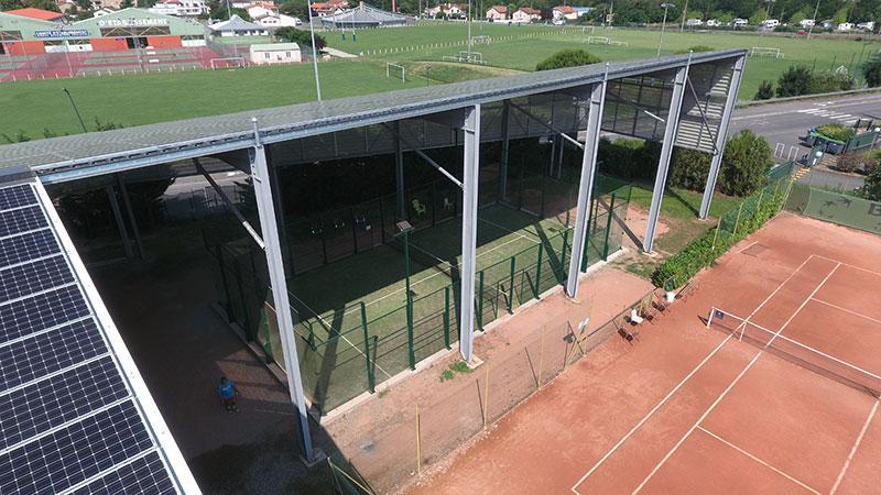 Stade Toulousain piste semi couverte