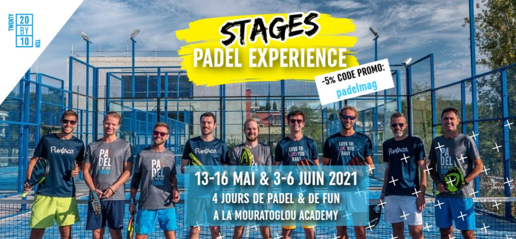 Stages printemps/été : Padel Experience by TWENTY BY TEN