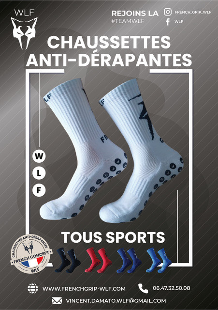 calcetines wlf frenchgrip