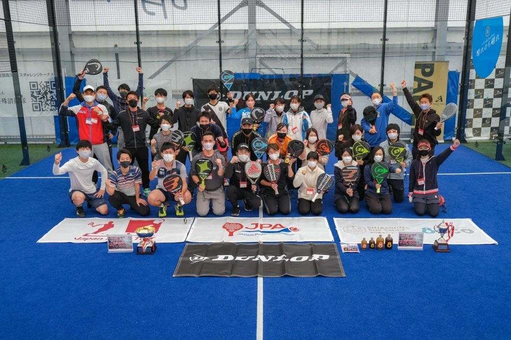 japan padel group photo association