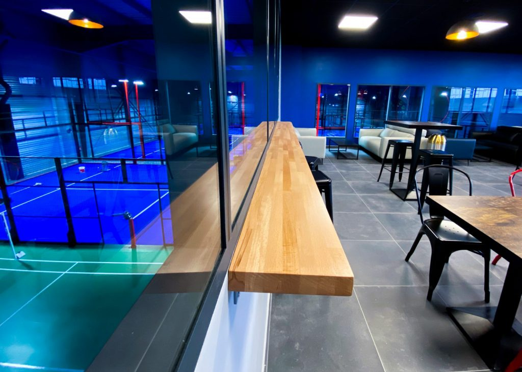 padel horizonte padel Paris bar track de padel