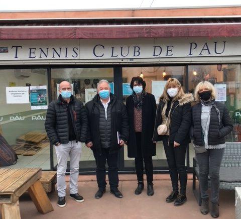 tennis club de pau padel