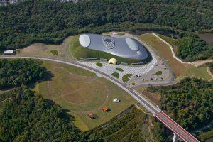 the dome sweden vu de haut 1