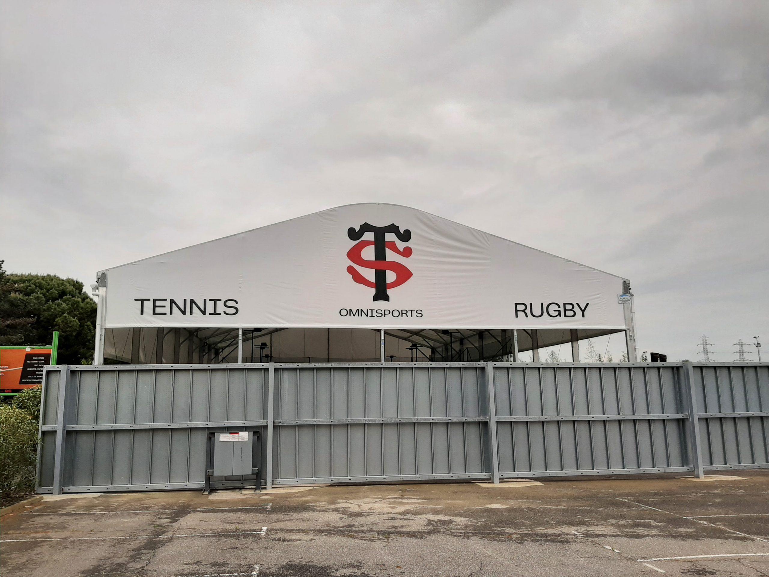 Toulousen stadion padel sisä-