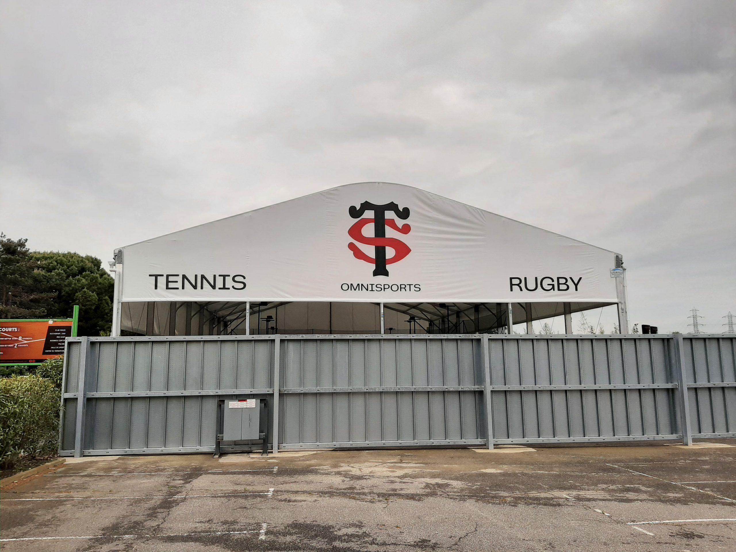 kangas padel Toulousen stadion