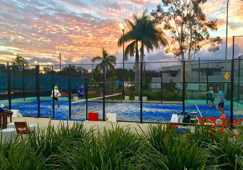 terra di padel all'aperto in australia