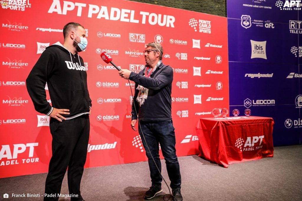 Adrien maigret intervista infortunio apt padel giro