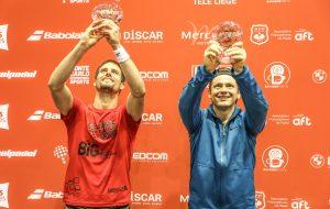Miguel Oliveira et Cayetano Rocafort coupe victoire apt padel tour
