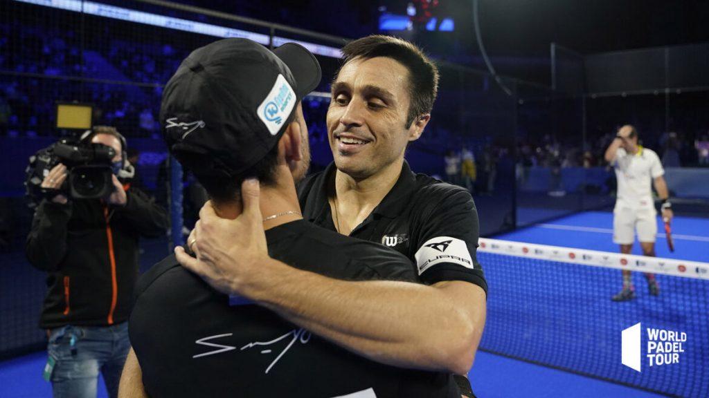 Belasteguin Gutierrez embrassade victoire WPT Madrid Open 2021
