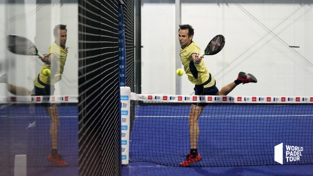 Benjamin Tison récupération filet world padel tour