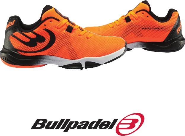 The new shoe from padel Bulldpadel Vertex Hybrid Fly