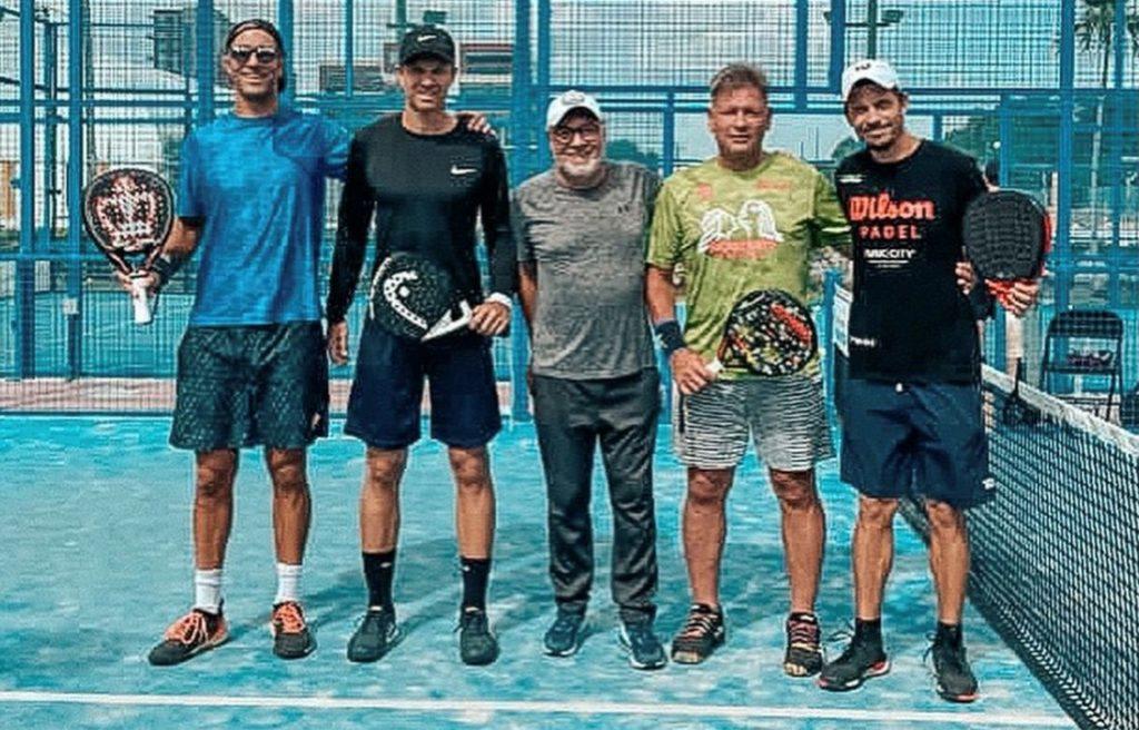Nallé Grinda / Carlos Zarhi: un partido en el Real Open Padel Miami