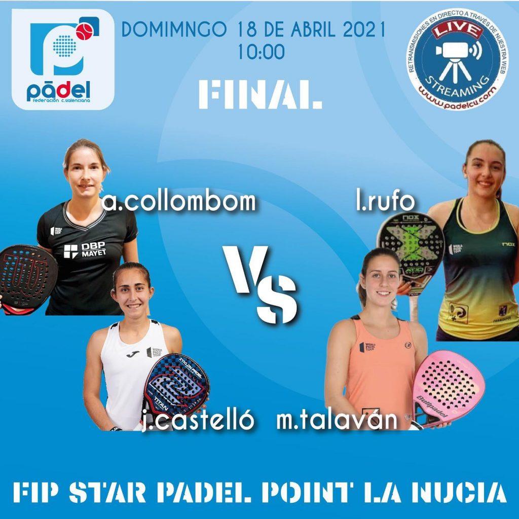 LIVE FIP Star La Nucia Collombon / Castello vs Talavan / Rufo