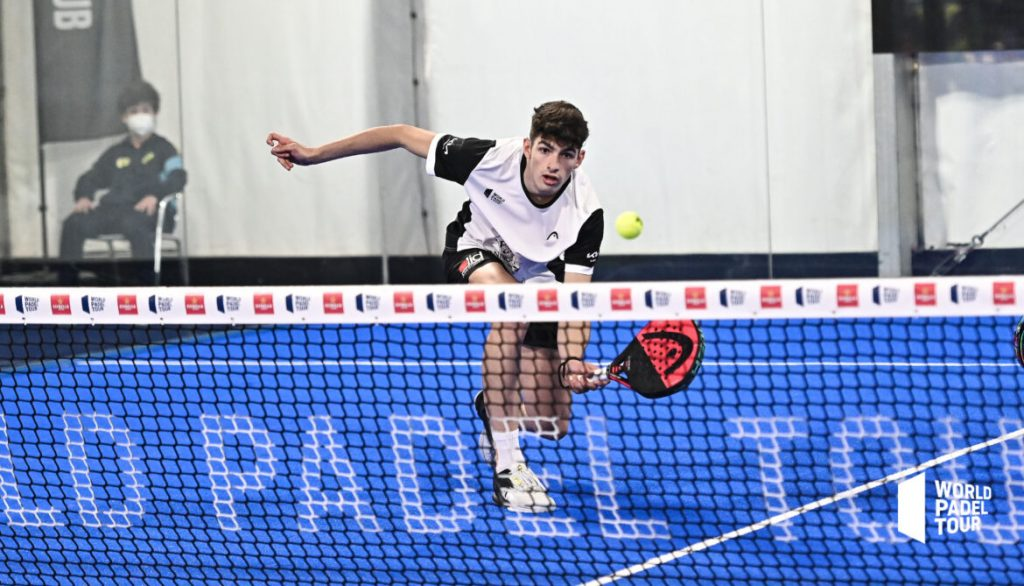 Coello volée world padel tour