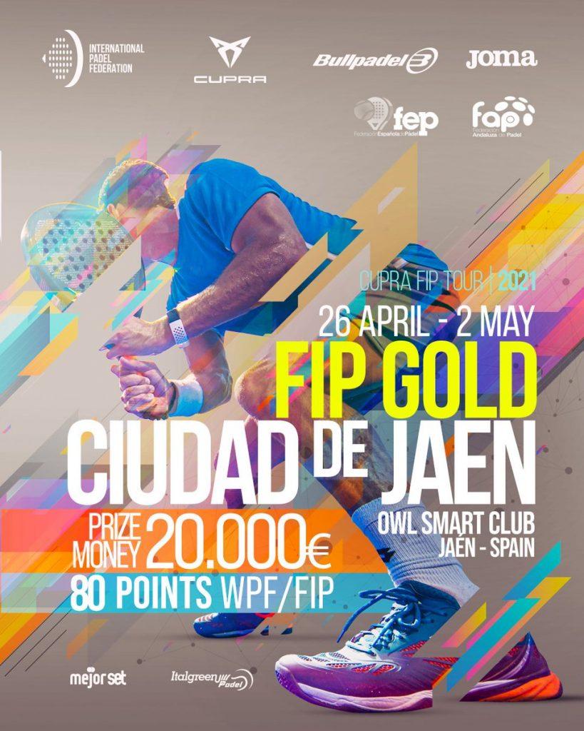 FIP Gold Jaen 2021 Padel Affiche