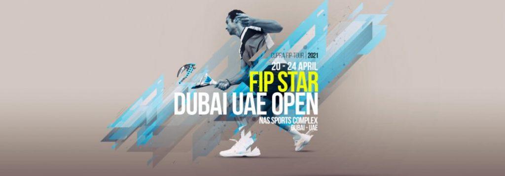 Poster FIP Star Dubai Open Padel 2021