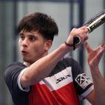 Javi Leal volée revers world padel tour