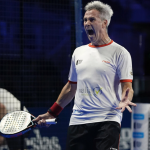 Lamperti Madrid Open 2021 Padel détermination
