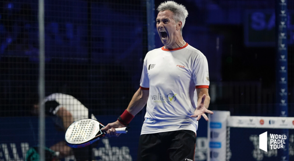 Lamperti Madrid Open 2021 Padel determinacja