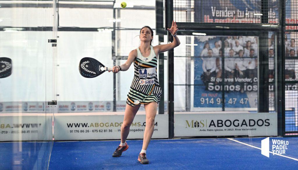 Tamara icardo world padel tour pallonetto